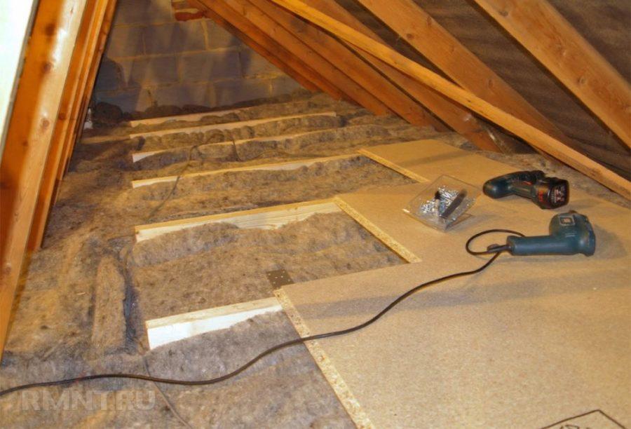 Звукоизоляция в межэтажных перекрытиях