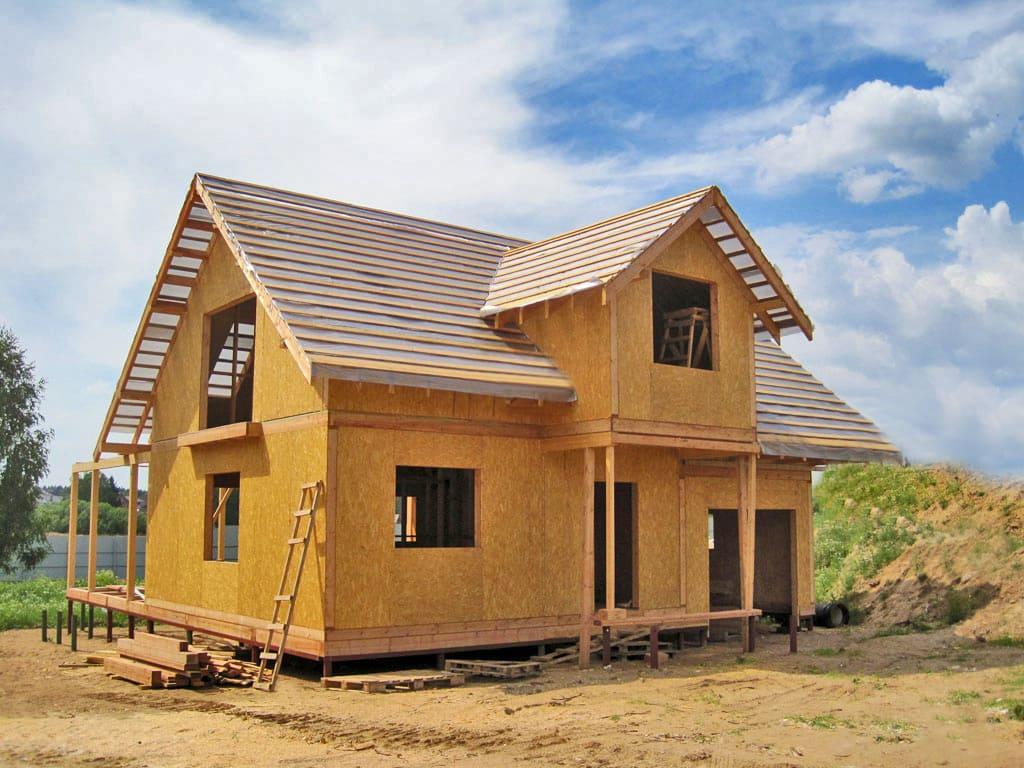 Время строительства дома по канадской технологии