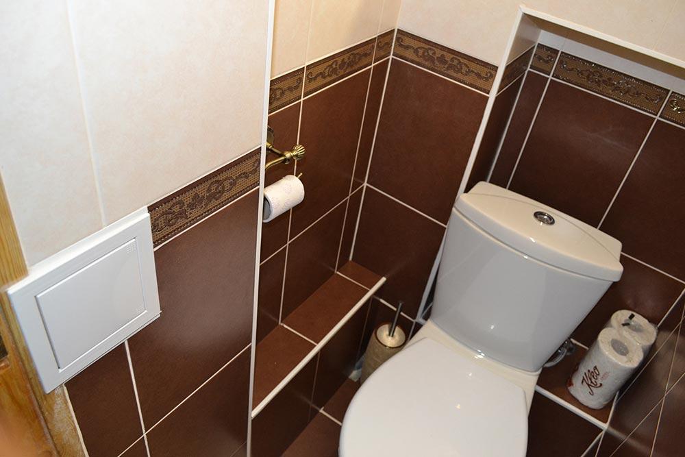 Ремонт в туалете. Основные операции