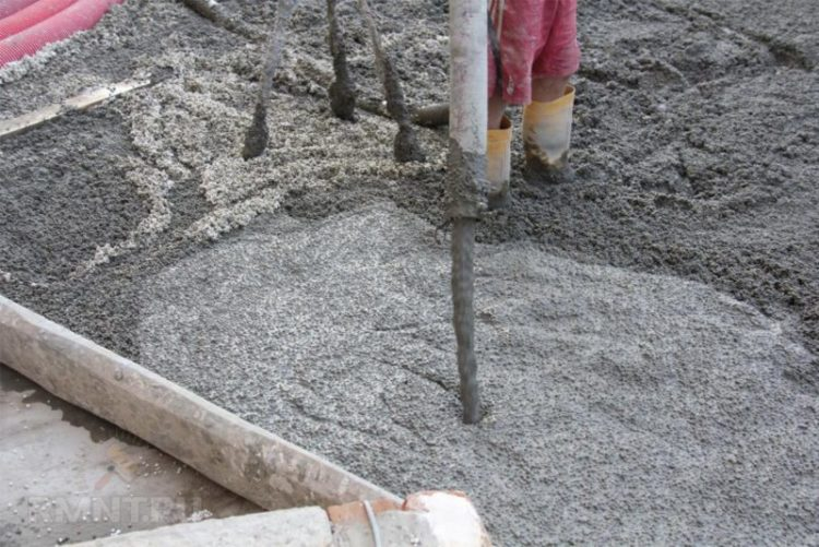 Подогрев заполнителей бетонной смеси