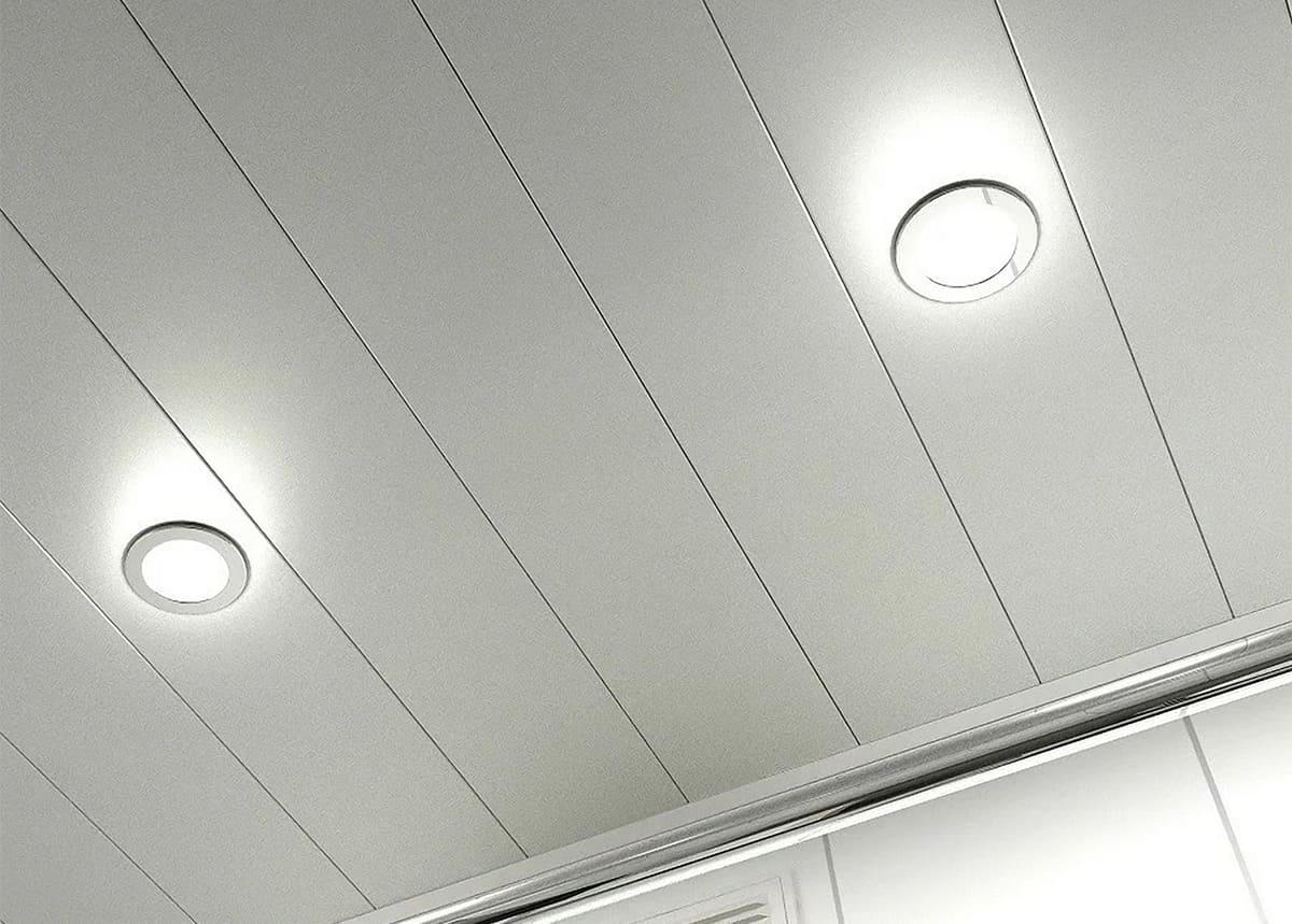 Пластиковый потолок: Характеристика и рекомендации