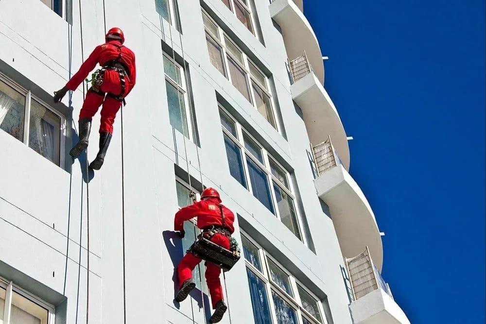 Промышленный альпинизм в наше время