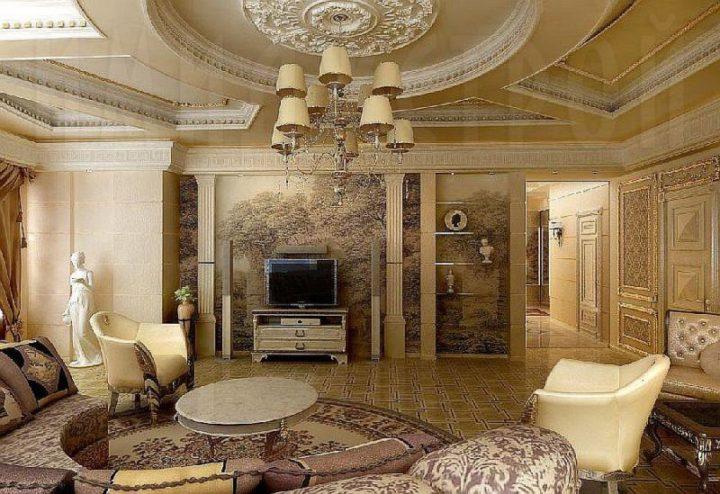 Элементы античности в дизайне квартиры