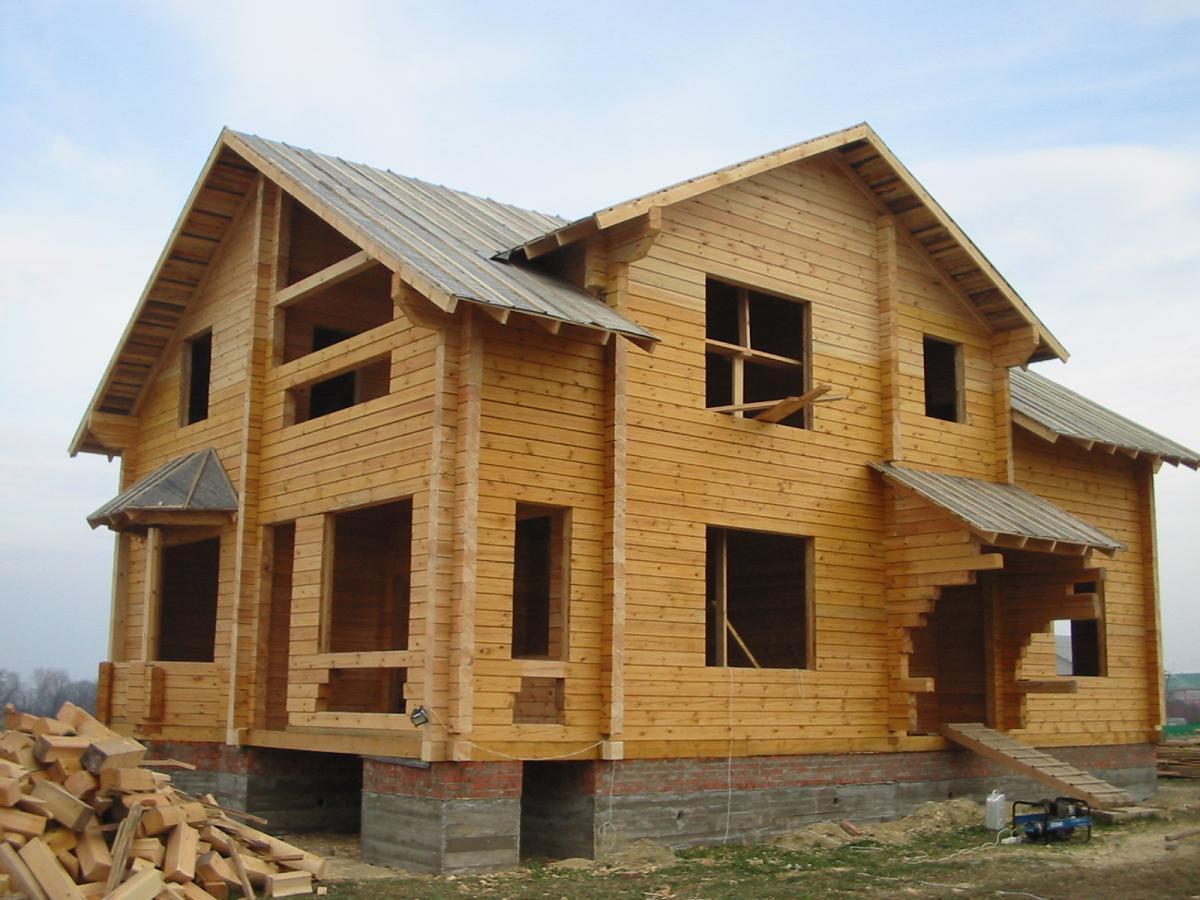 Постройка жилых домов