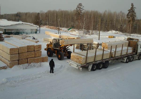 Покупка строй-материалов зимой