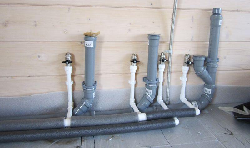 Элементы систем канализации