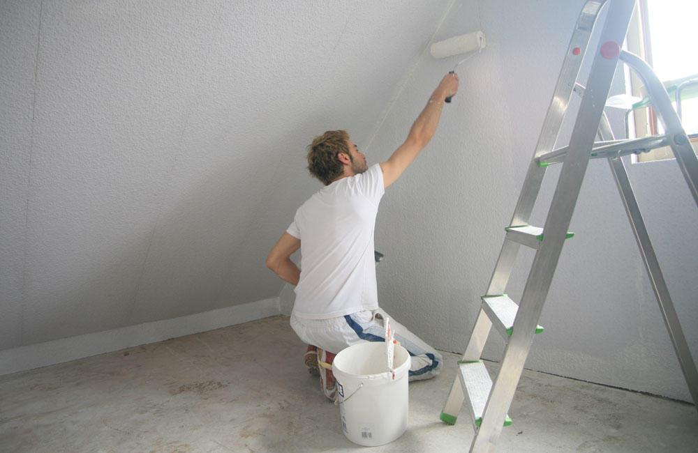 Покраска стен из гипсокартона — как красить стены, чем окрашивать гипсокартон