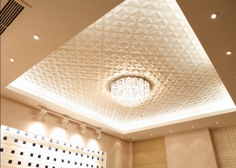 Потолочные покрытия - одна из составляющих дизайна интерьера