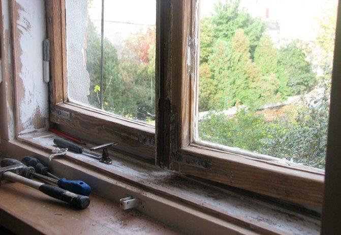 Технология восстановления деревянных окон