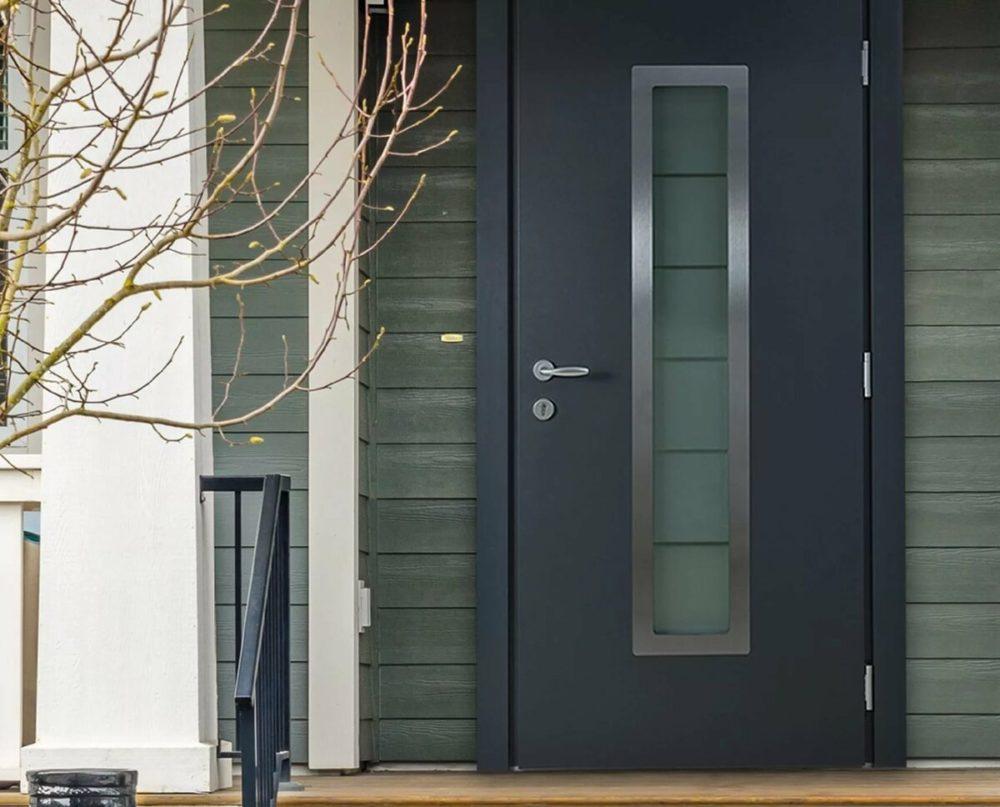 Металлические двери - эстетика и безопасность