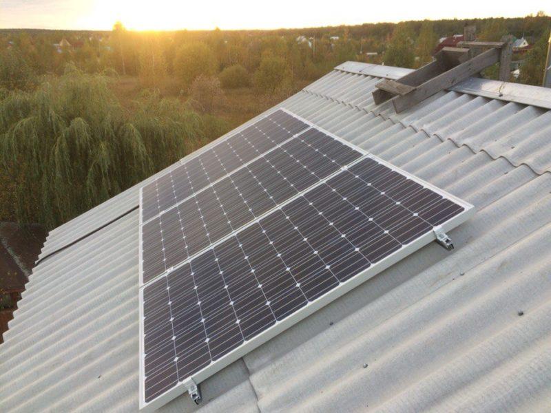 Система автономного электроснабжения загородного дома