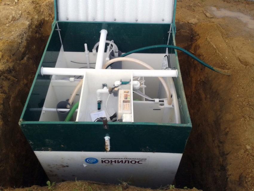 Преимущества автономной канализации Unilos