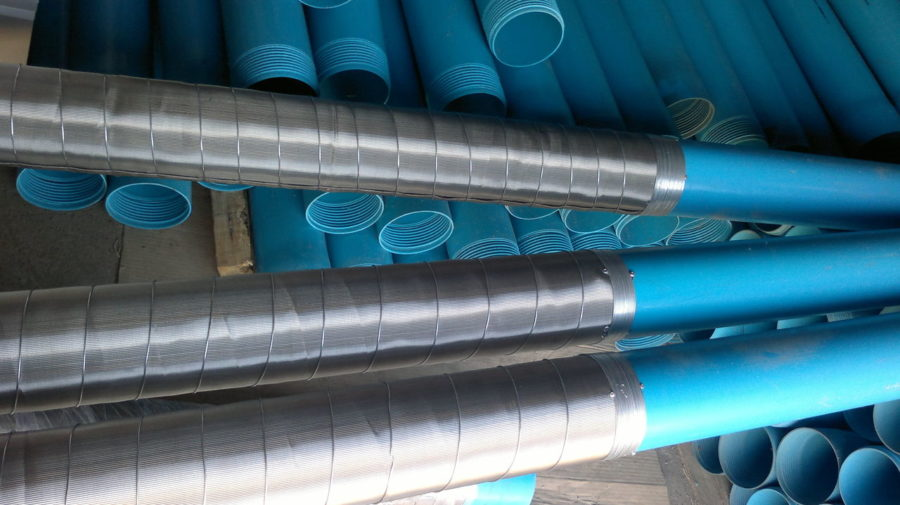 Пластиковые трубы для скважин
