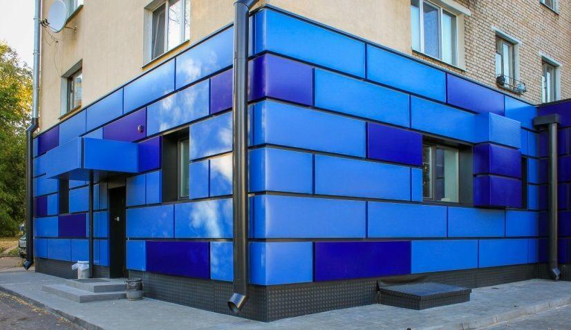 Декоративные панели для вентилируемых фасадов