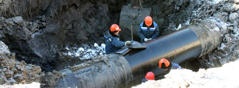 Защитное покрытие труб газопроводов