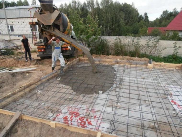 Как выбрать марку бетона для заливки фундамента?