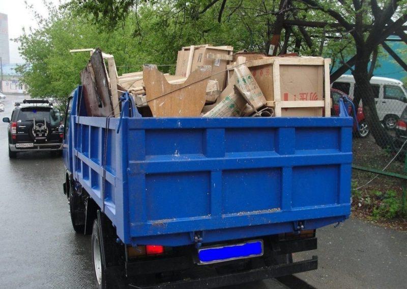 Вывоз мусора на заказ