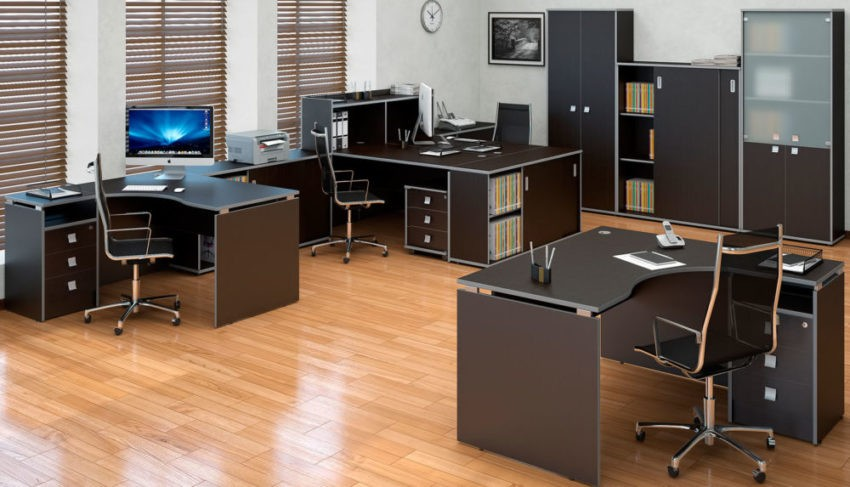 Нужна ли в офисе корпусная мебель?