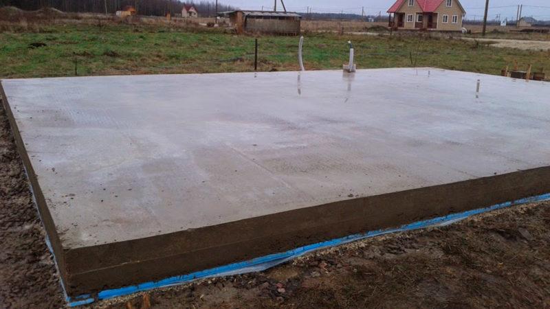Что важно учесть при строительстве фундамента из бетона?