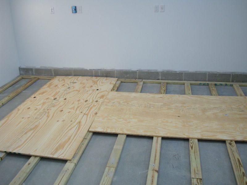 Новый деревянный пол для старого дома. Укладка по нивелирующему слою