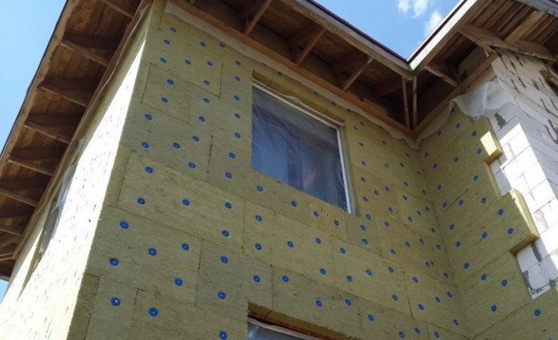 Система наружного утепления «мокрый фасад»