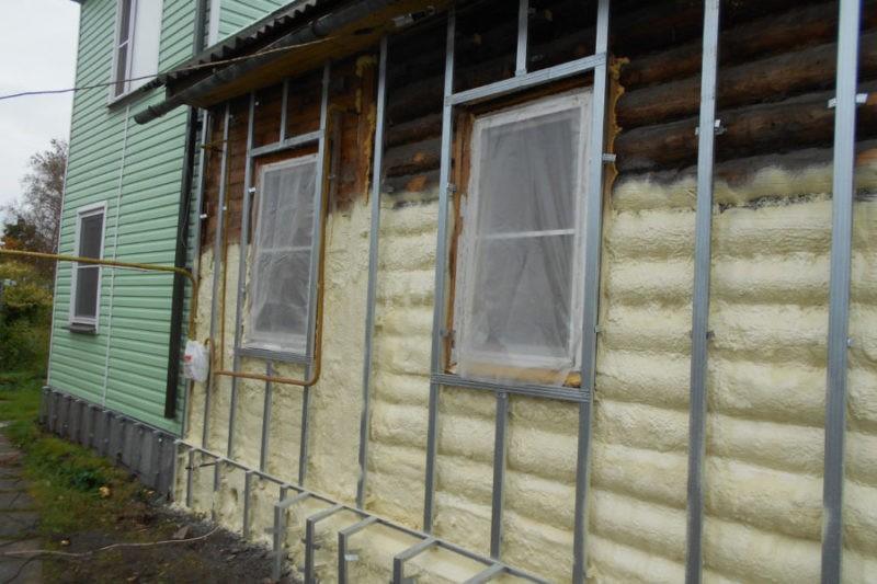 Материалы утеплителей для деревянного дома