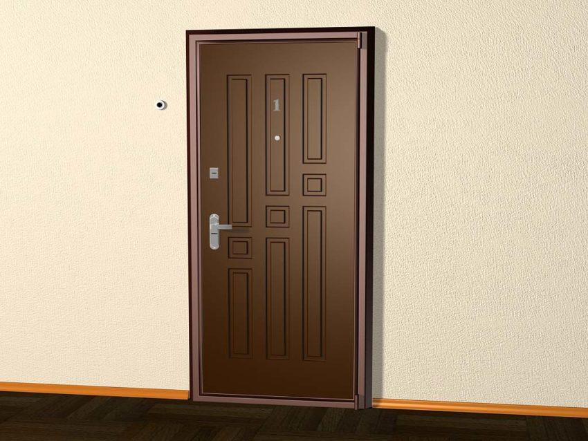 Стальные двери: основные преимущества