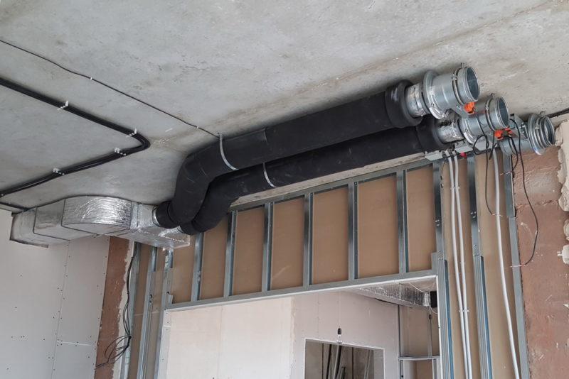 Воздушное отопление дома (воздухом)
