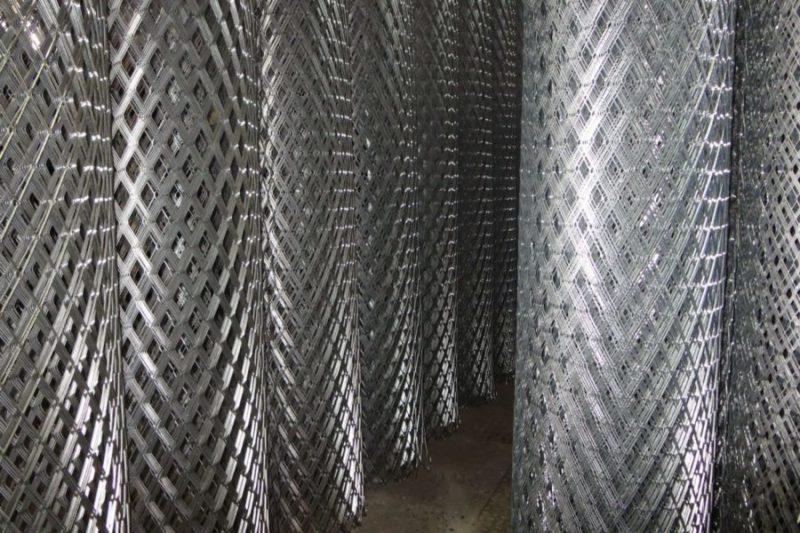 Металлические сетки для строительства – основные виды