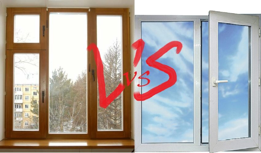 Выбираем окна — практичный пластик или экологичное дерево?