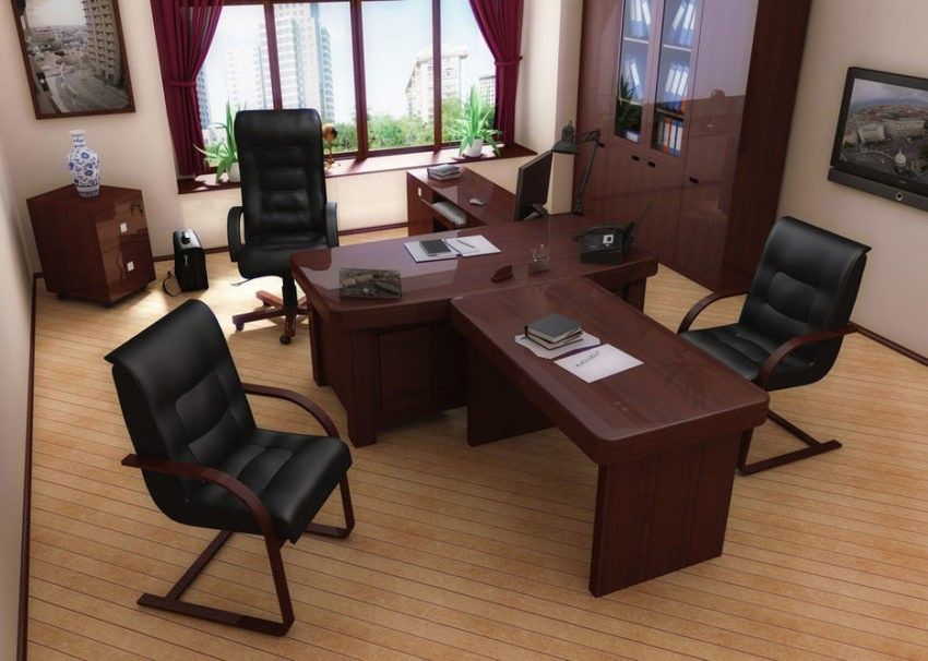 Как правильно обустроить кабинет руководителя.