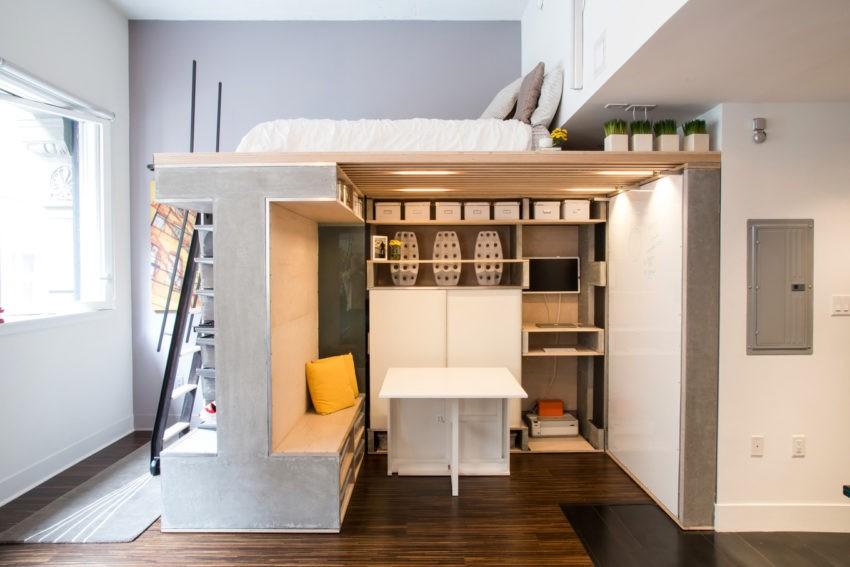 Экономия места в квартире, насколько это актуально?