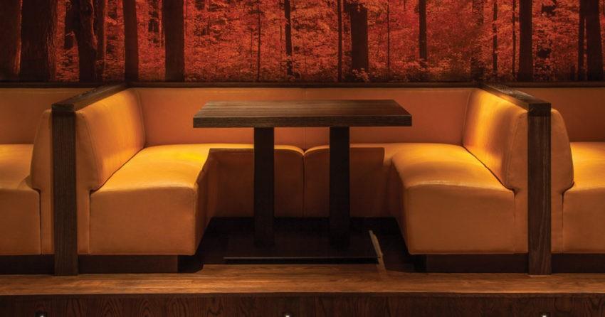 Основные характеристики качественных диванов для кафе