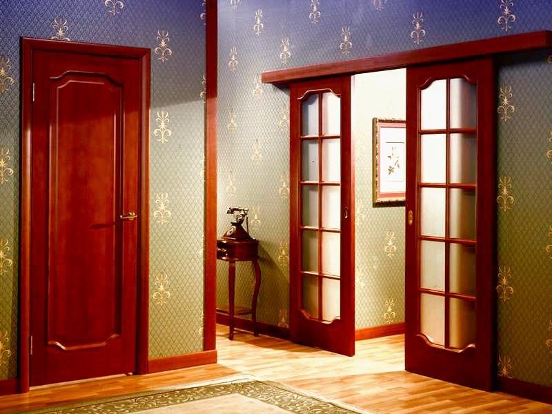 Межкомнатные двери: выбор и уход
