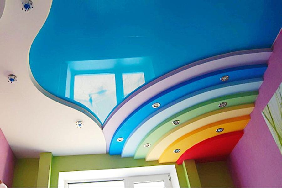 Какой цвет выбрать для потолка?