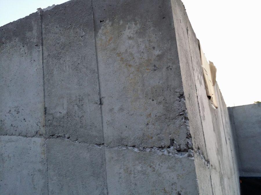 Устройство рабочих швов при перерывах в бетонировании