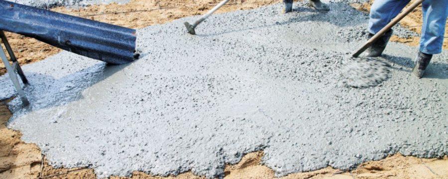 Состав бетонных смесей, заполнители и затворители
