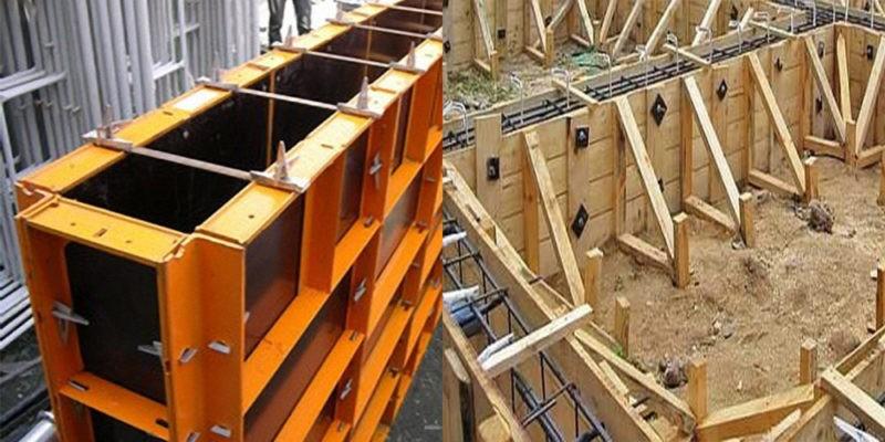 Разборно-переставная деревянная щитовая опалубка