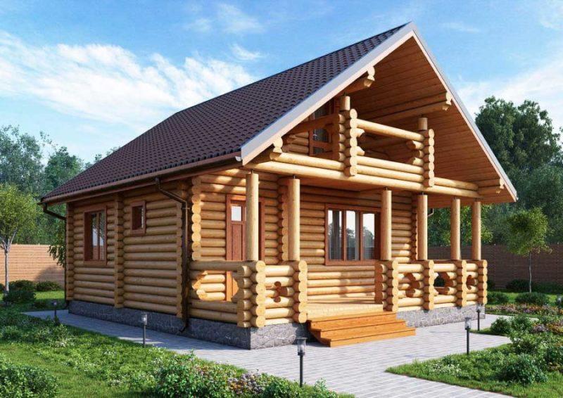 Специфика проектирования домов из оцилиндрованного бревна