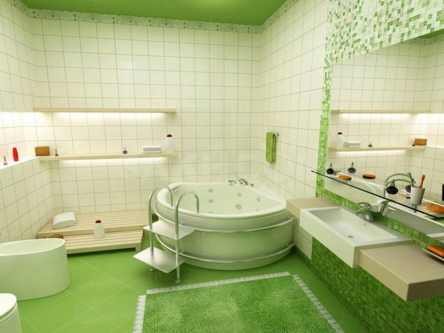 Основные принципы оформления дизайна ванной комнаты