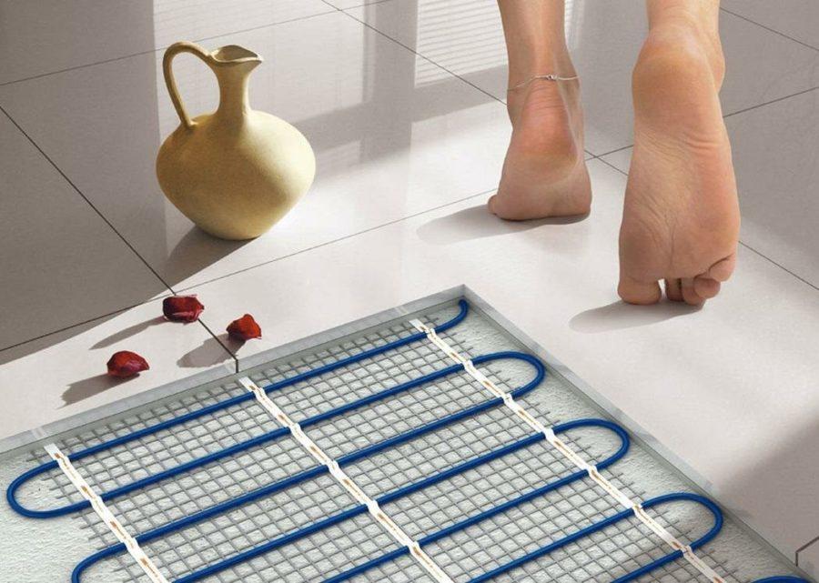 Теплый пол современное средство отопления