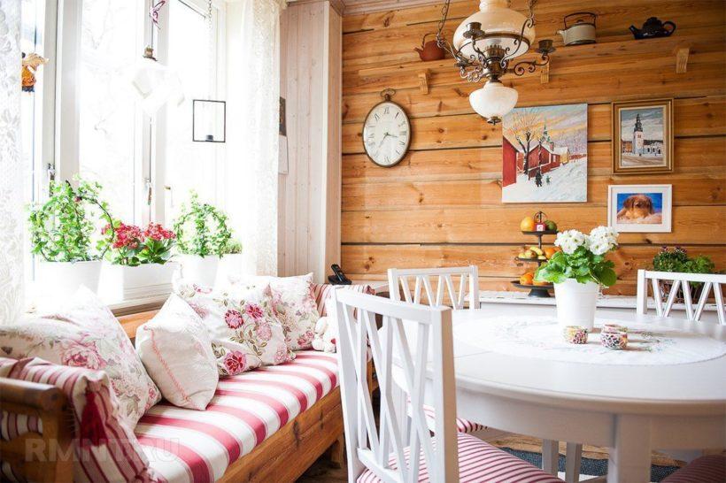 Кухонная уютная атмосфера
