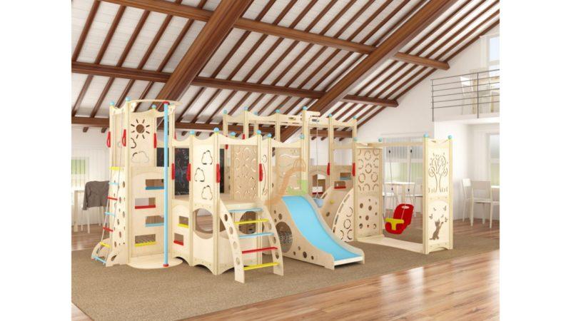 Детские игровые комплексы для дома