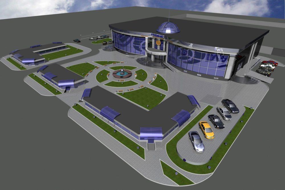 Первые этапы в строительстве торгово-развлекательных комплексов