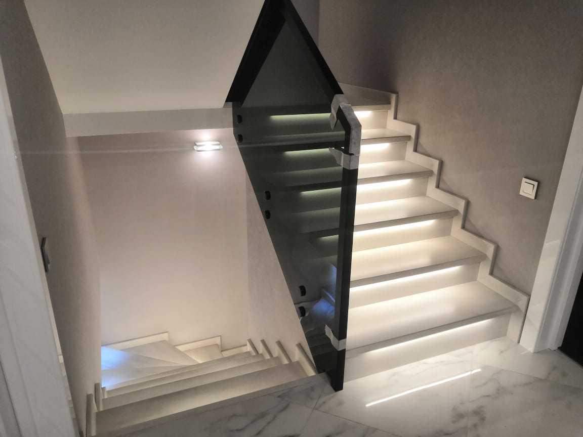 Светодиоды в освещении лестниц