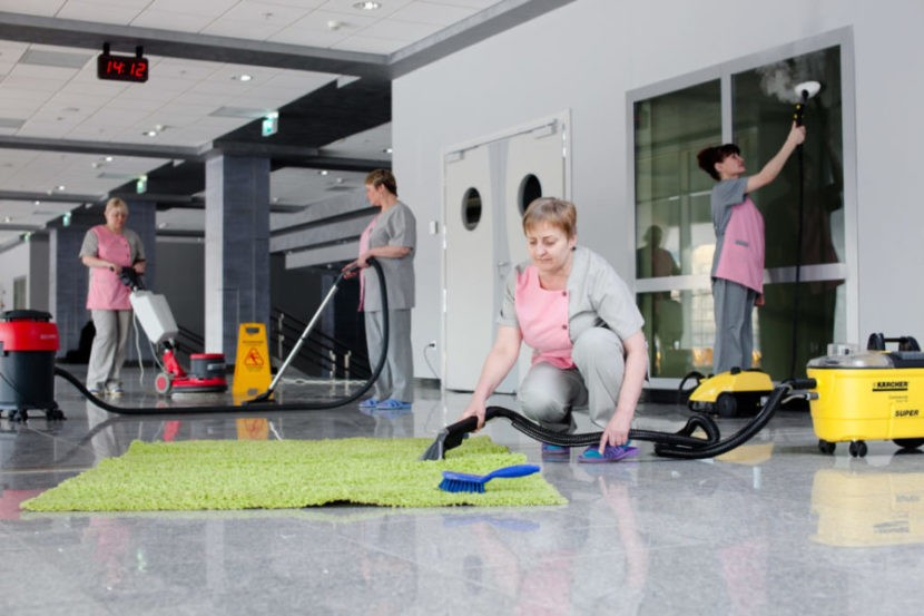 Почему уборка офисов сегодня востребована?