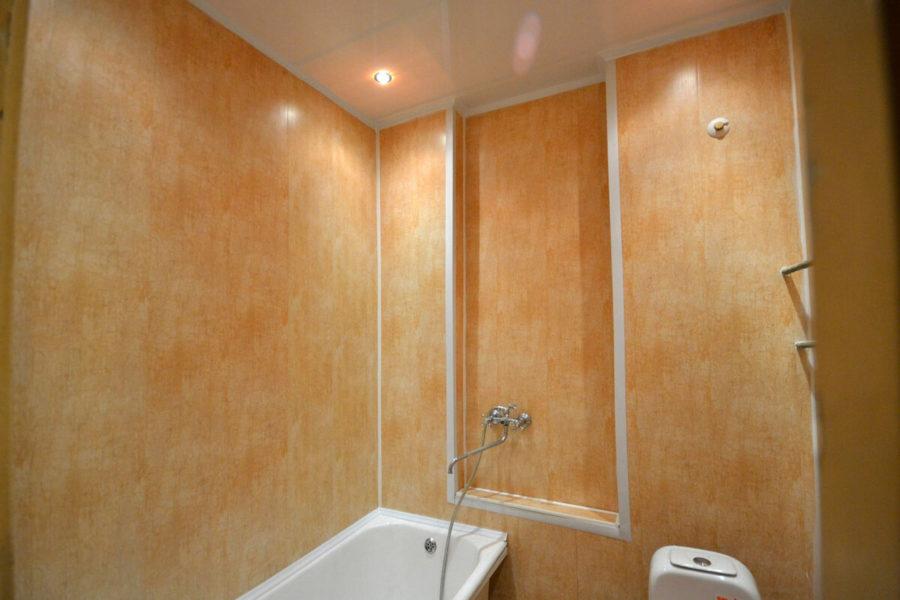 Ремонтируем ванную комнату пластиковыми панелями