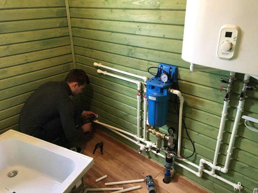 Качественный монтаж системы водоснабжения