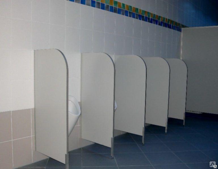 Удобство сантехнических перегородок
