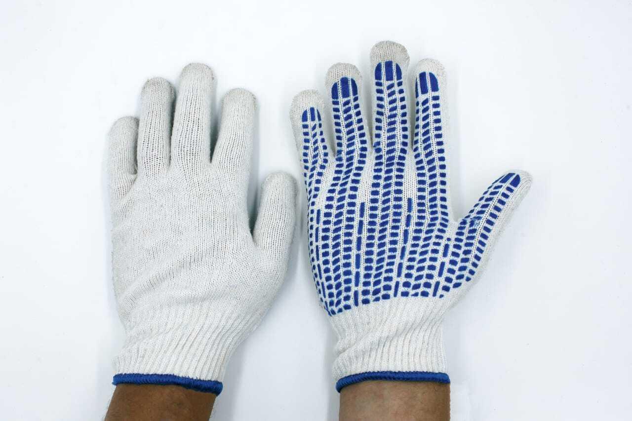 Хлопчатобумажные перчатки — удобно для ремонтных работ